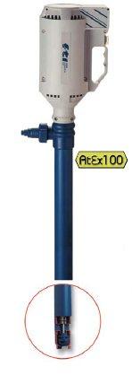 Pompa beczkowa PF stworzona do transferu kwasów i zasad.