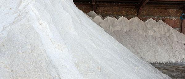 Zdjęcie soli drogowej